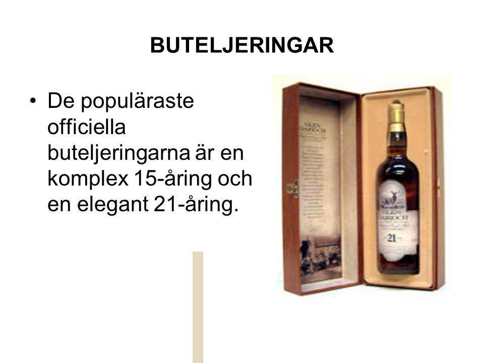 LAGRING Spriten lagras framför allt i begagnade bourbonfat.