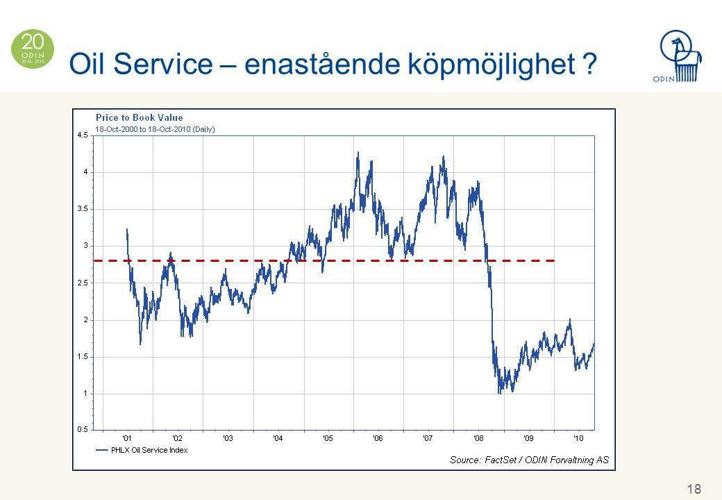 Oil Service – enastående köpmöjlighet 18