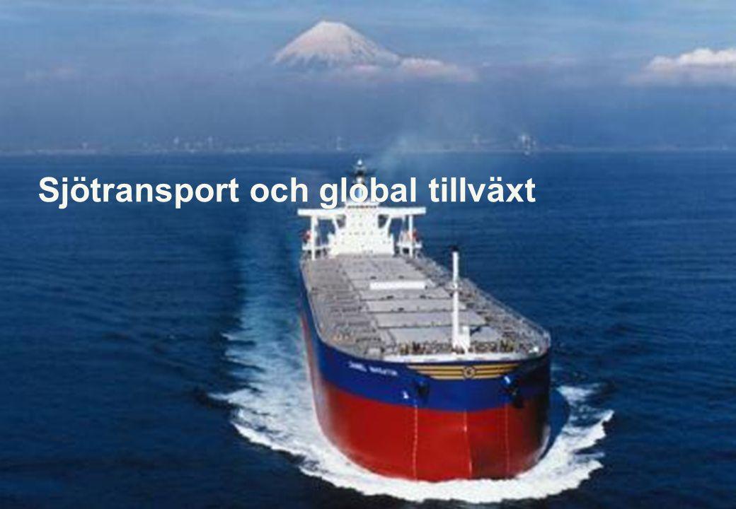 Sjötransport och global tillväxt