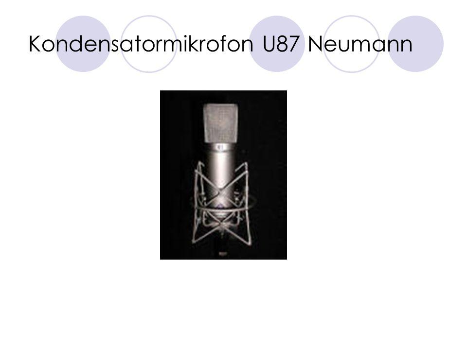 Kondensatormikrofon U87 Neumann