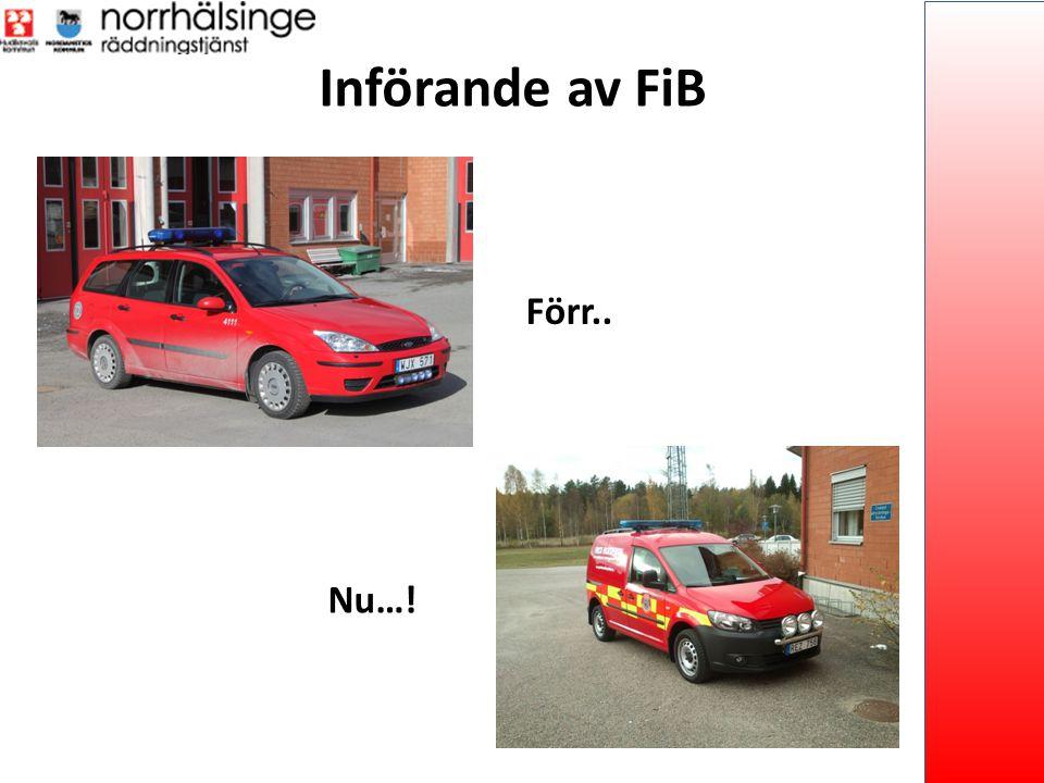 Införande av FiB Förr.. Nu…!