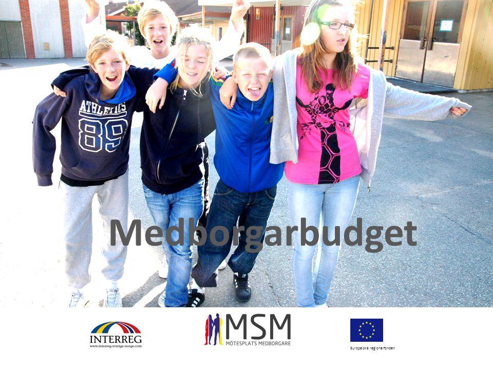 Europeiska regionalfonden Medborgarbudget
