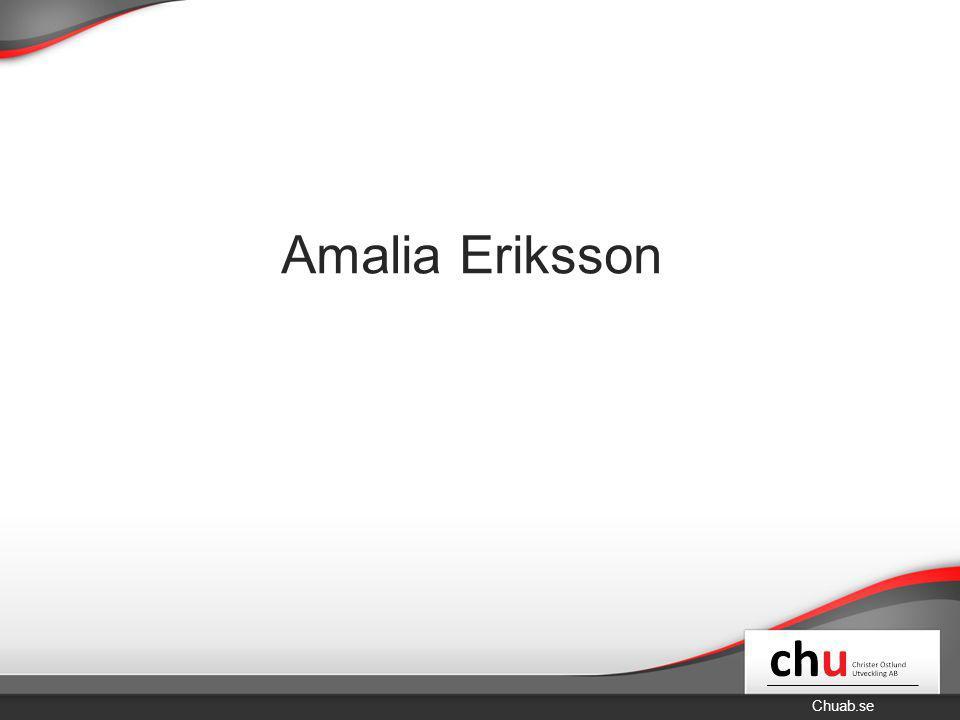 Chuab.se Amalia Eriksson