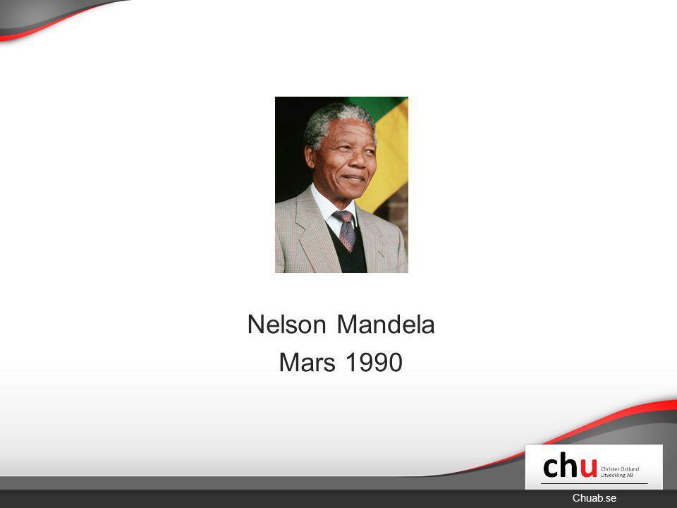 Nelson Mandela Mars 1990