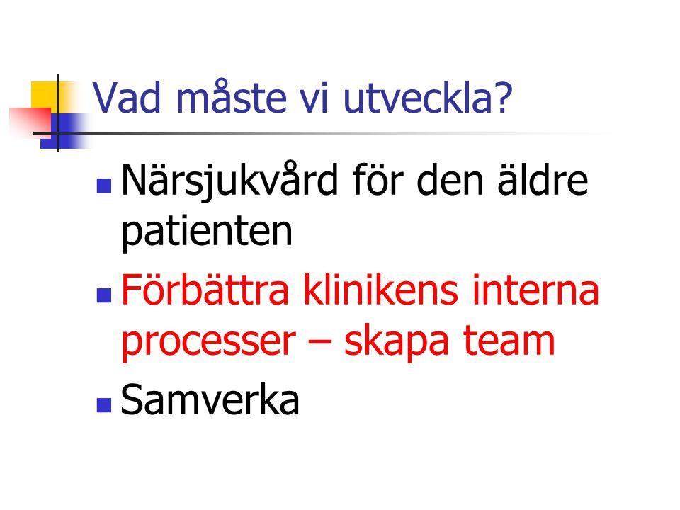 Patient SJUKVÅRD
