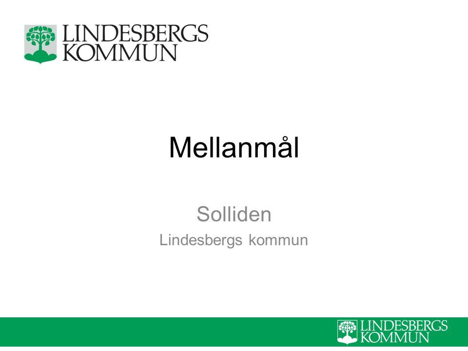Mellanmål Solliden Lindesbergs kommun