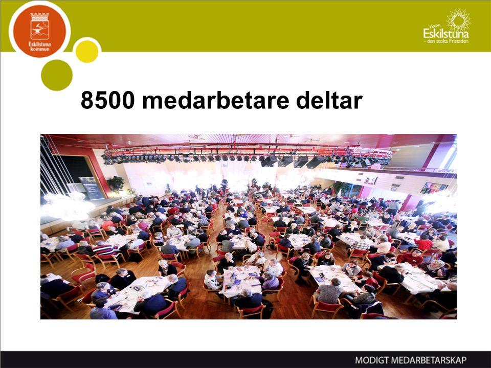 8500 medarbetare deltar