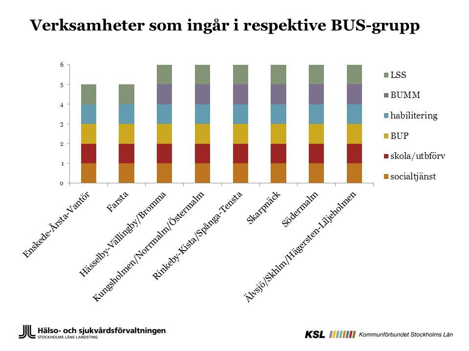Enligt BUS-överenskommelsen ska den lokala BUS- gruppen ta beslut om att ta fram lokala överenskommelser och rutiner för att främja samverkan mellan huvudmännen.
