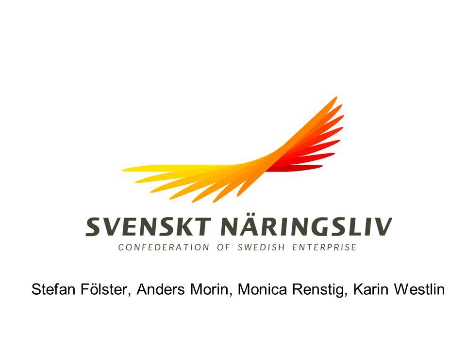 Får kommunens invånare veta vad de vill veta? Stefan Fölster, Anders Morin, Monica Renstig, Karin Westlin