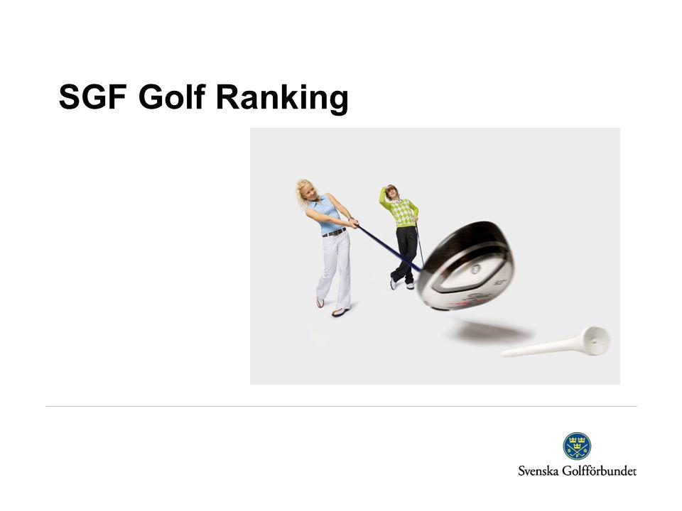 SGF Golf Ranking