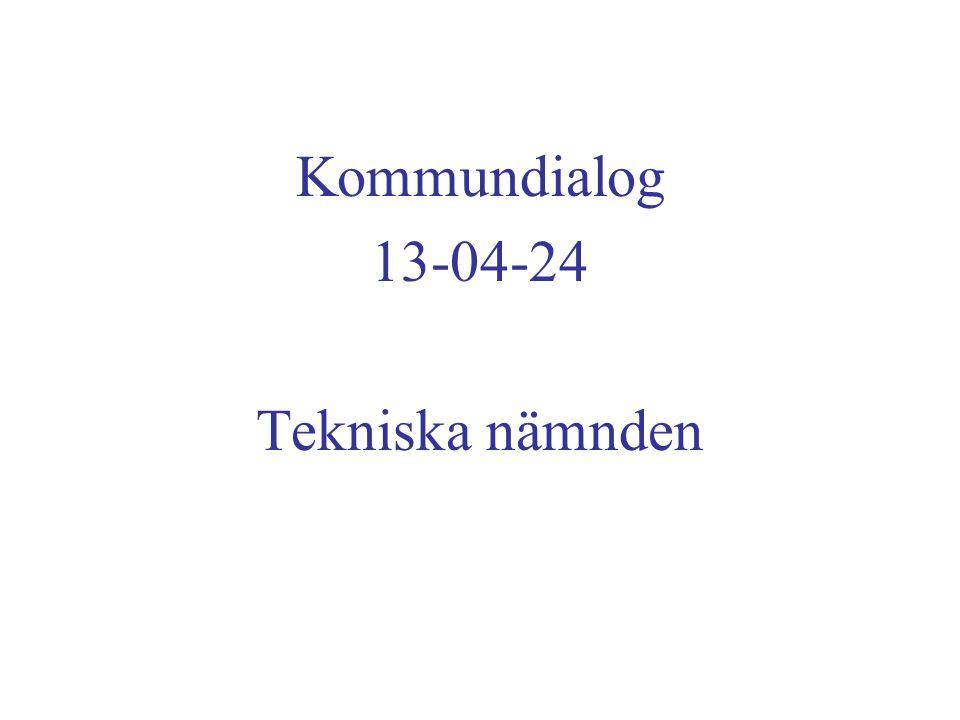 Kommundialog 13-04-24 Tekniska nämnden