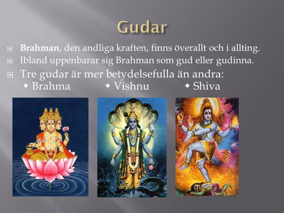  Brahman, den andliga kraften, finns överallt och i allting.