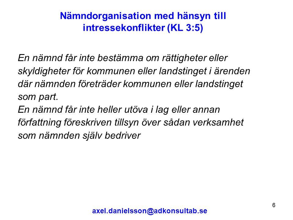 axel.danielsson@adkonsultab.se 7 Hur styr fullmäktige.