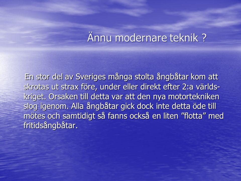 En stor del av Sveriges många stolta ångbåtar kom att skrotas ut strax före, under eller direkt efter 2:a världs- kriget.
