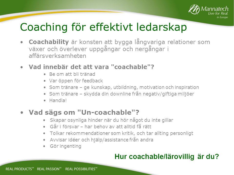 Coachability är konsten att bygga långvariga relationer som växer och överlever uppgångar och nergångar i affärsverksamheten Vad innebär det att vara