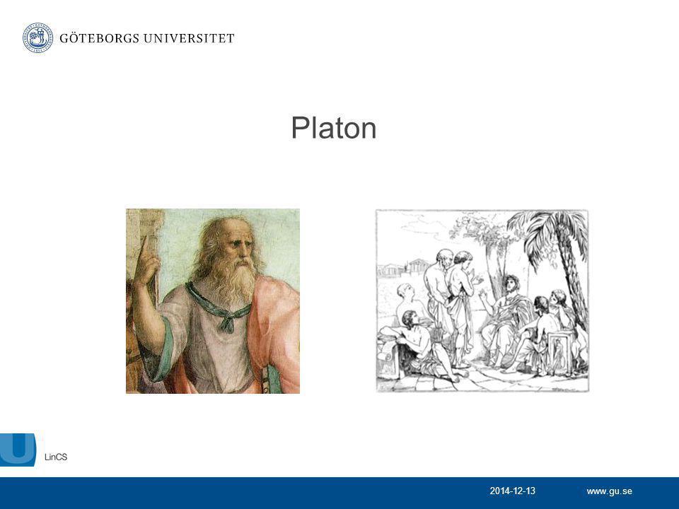 www.gu.se Platon 2014-12-13