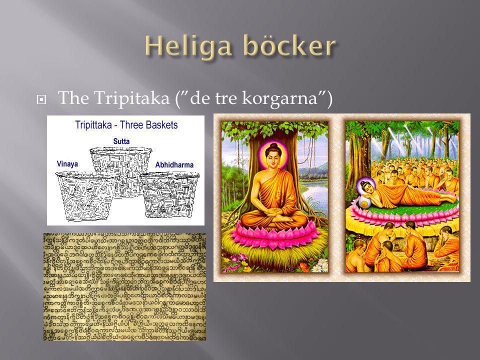 """ The Tripitaka (""""de tre korgarna"""")"""