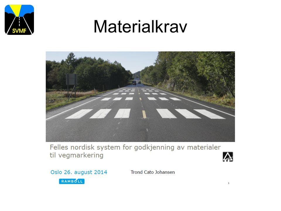 Materialkrav