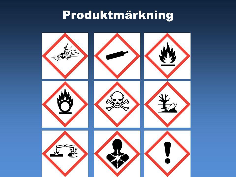 Produktmärkning