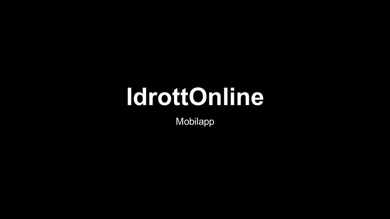 Inloggningssida Där du behöver IID och lösenord.