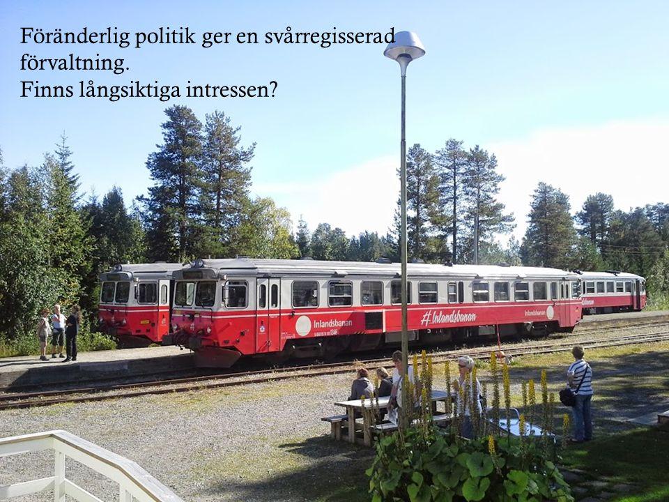 Föränderlig politik ger en svårregisserad förvaltning. Finns långsiktiga intressen?