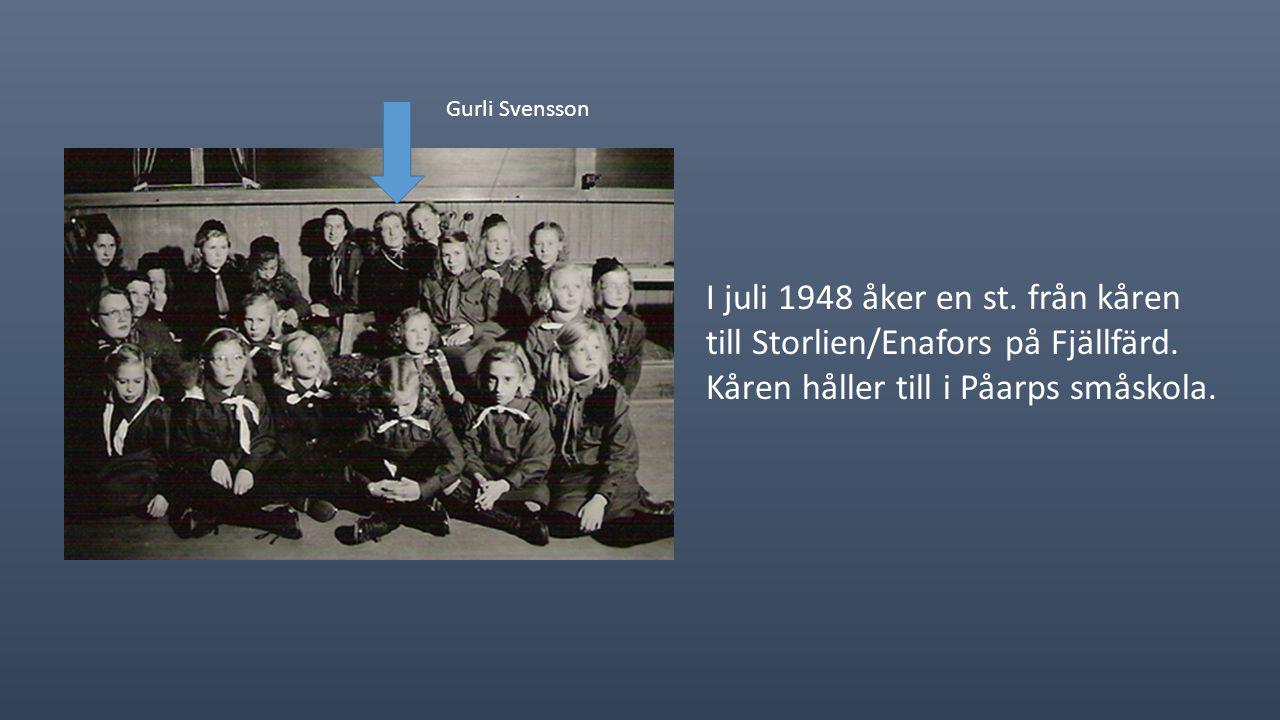 1947 startar man en blåvingeavdelning med hjälp av Margareta Jönsson.