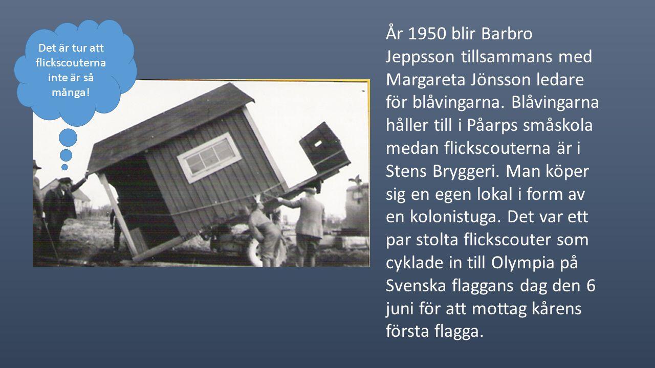 På sommaren 1949 reser fem stycken på förbundslägret Stråken.