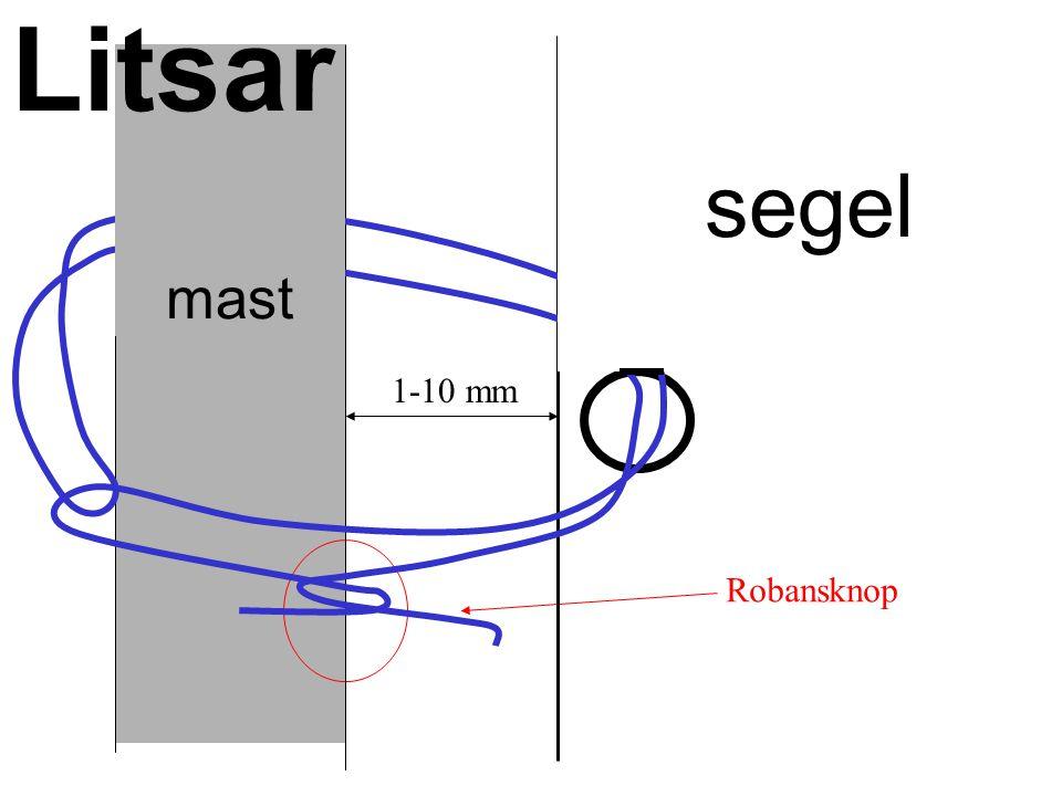 Robansknop 1-10 mm segel mast Litsar
