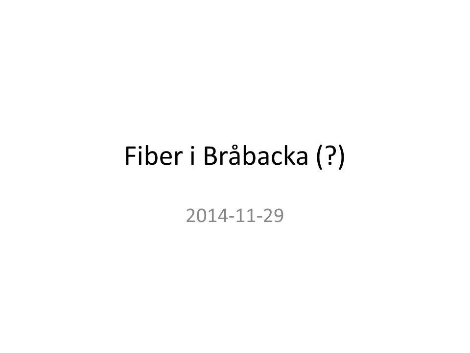 Fiber i Bråbacka (?) 2014-11-29