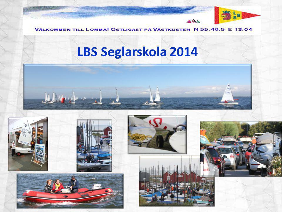 Målet med LBS seglarskola är att alla ska tycka att segling är roligt och känna sig trygga och vilja fortsätta segla.