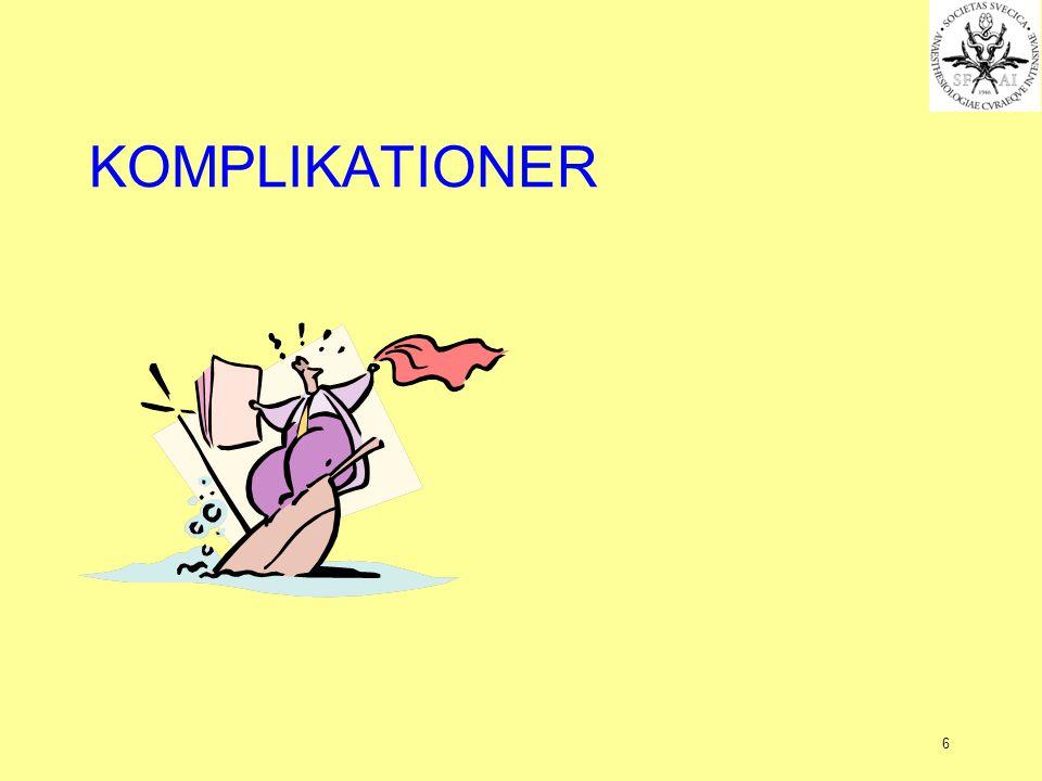 6 KOMPLIKATIONER