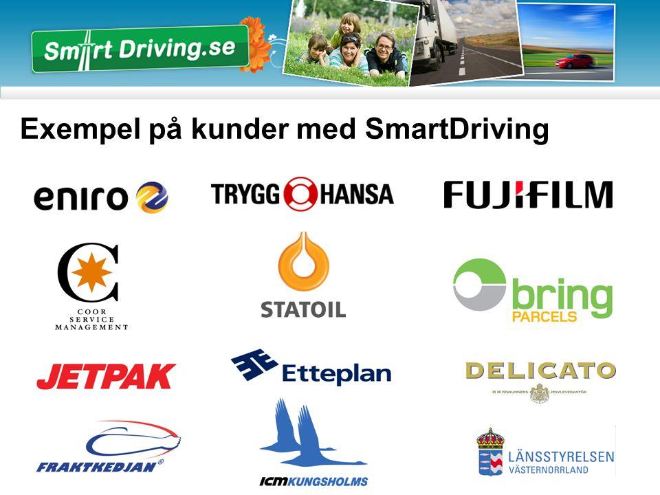 Exempel på kunder med SmartDriving