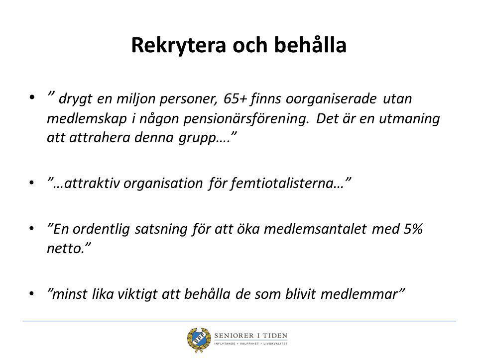 Medlemskap Individen är medlem i förbundet med hemvist i en lokal förening Finns centralt medlemskap