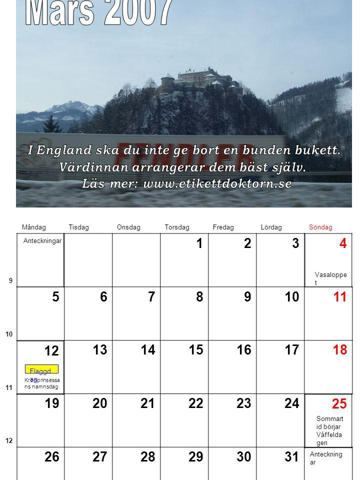 Sveriges national dag Flaggd ag Midsom mardage n Midsom marafton Anteckningar MåndagTisdagOnsdagTorsdagFredagLördagSöndag 22 123 23 4578910 24 11121314151617 25 1819202124 26 252627282930 6 2223