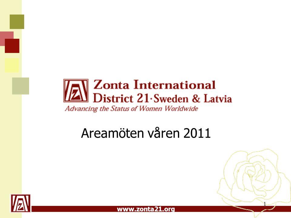 www.zonta21.org Stimulansbidrag till Convention i San Antonio 5 000 kr per klubb betalades till 12 klubbar Summa 60 000 kr SH 2011-03-08