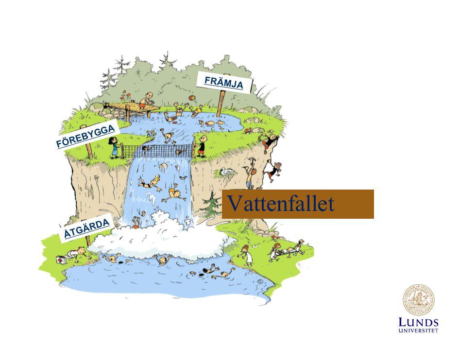 Vattenfallet FRÄMJA FÖREBYGGA ÅTGÄRDA