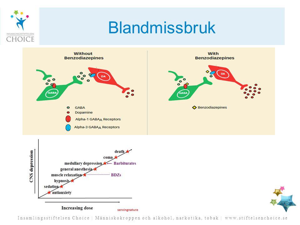 Insamlingsstiftelsen Choice | Människokroppen och alkohol, narkotika, tobak | www.stiftelsenchoice.se Blandmissbruk