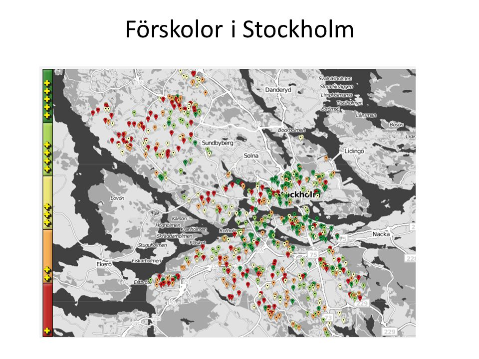 Res i STHLM 250 000 nedladdningar Mer än 80 000 dagliga användare …bara i Stockholm