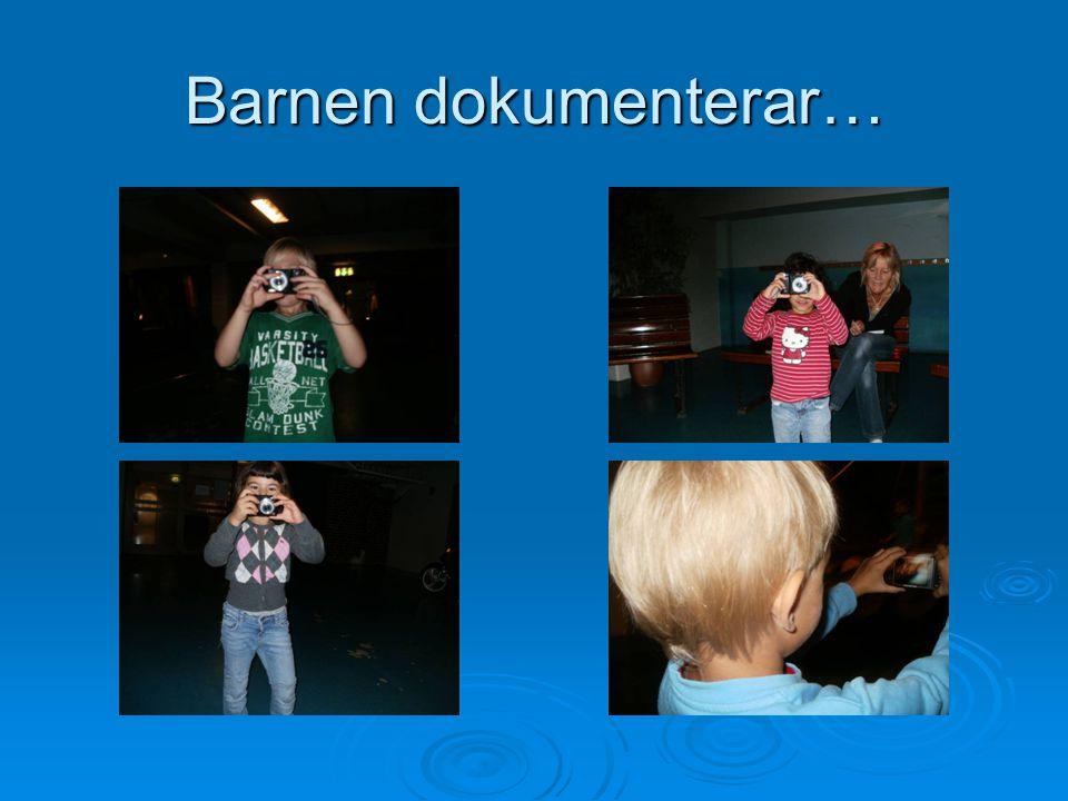 Barnen dokumenterar…