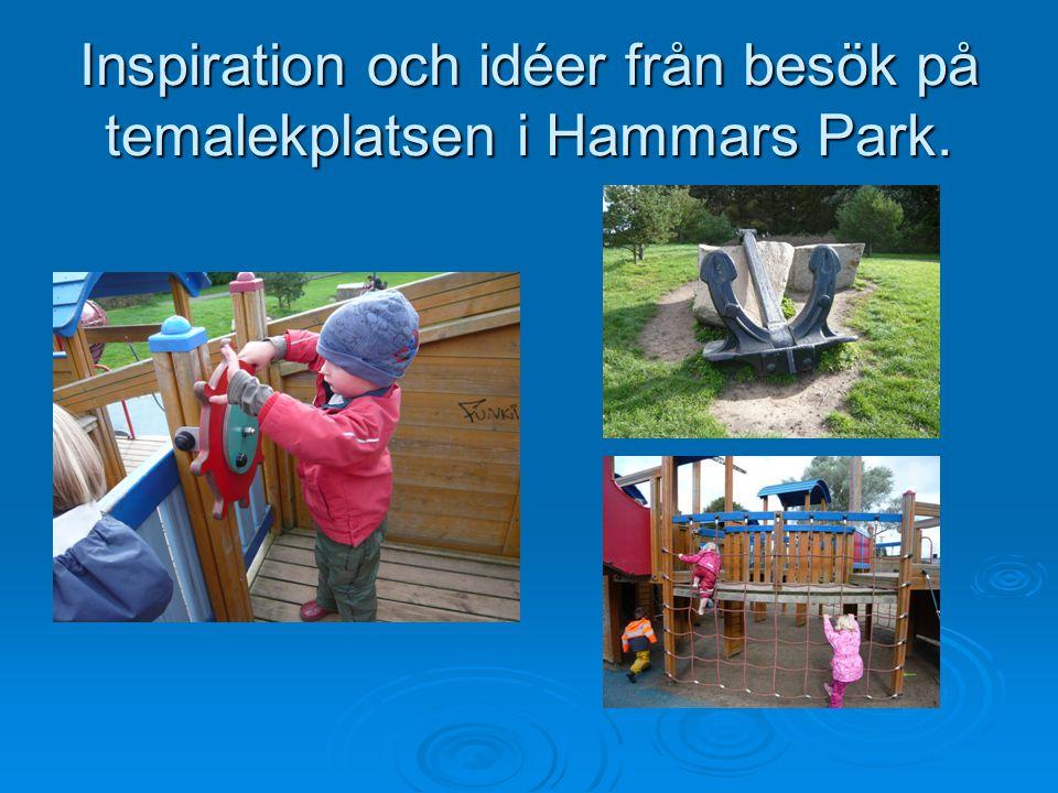 Inspiration och idéer från besök på temalekplatsen i Hammars Park.