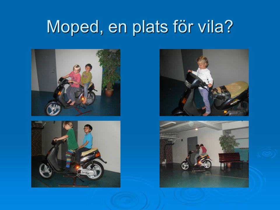 Moped, en plats för vila?