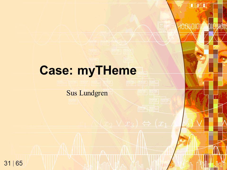 65 31 Case: myTHeme Sus Lundgren