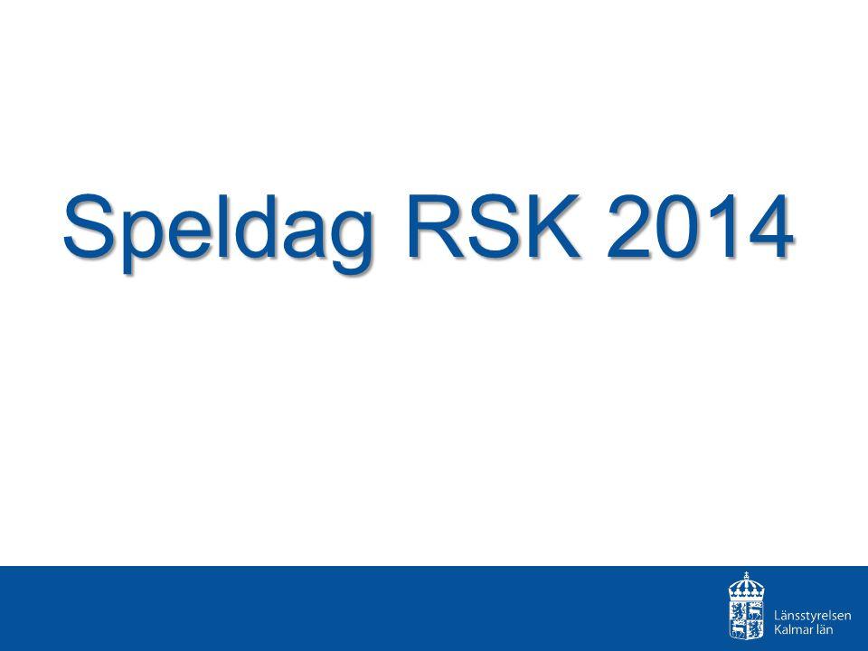 Speldag RSK 2014