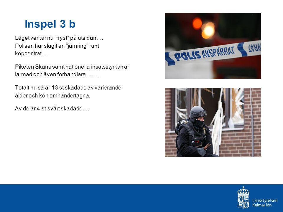 Läget verkar nu fryst på utsidan…. Polisen har slagit en järnring runt köpcentrat…..