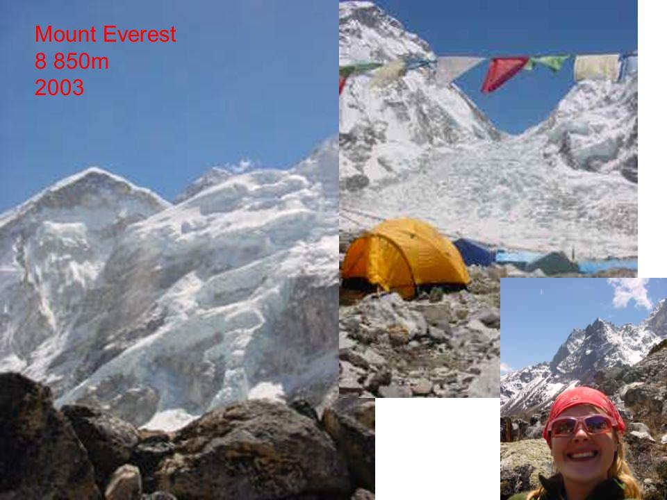 Mount Everest 8 850m 2003
