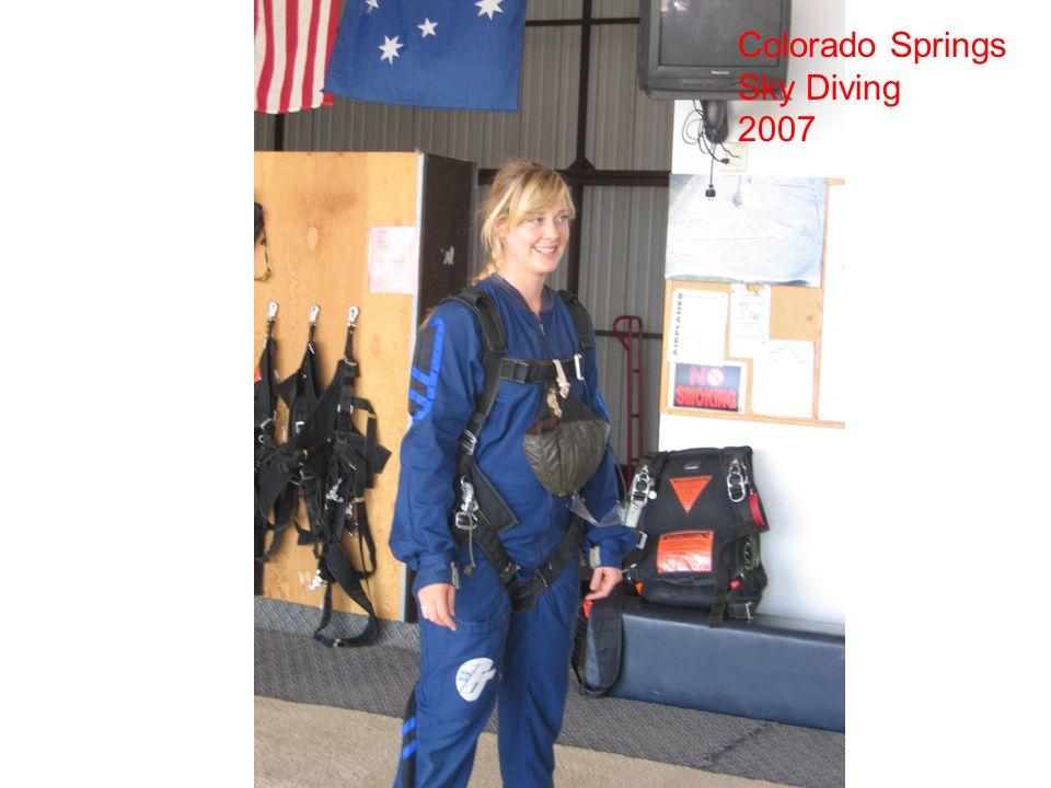Colorado Springs Sky Diving 2007