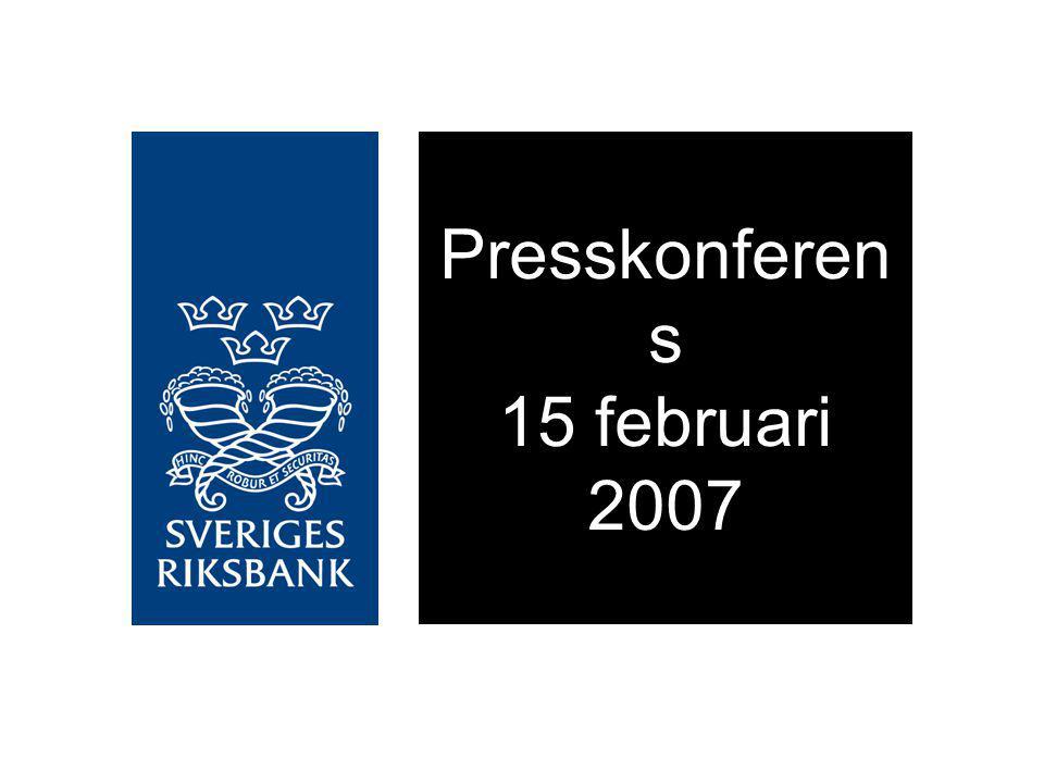 Presskonferen s 15 februari 2007