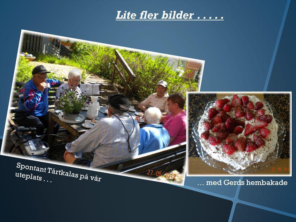 Lite bilder Uppsalaresan Öppet hus Ett tack till Gerd +