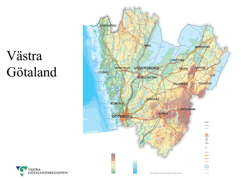 Det regionala utvecklingsuppdraget - försöket Ansvara för strategin för Västra Götalands långsiktiga utveckling Ansvara för planen för investeringar i den regionala trafikinfrastrukturen Ansvara för de regionala utvecklingsmedlen Ansvaret togs över från staten (länsstyrelsen) 1999 och är t.v.