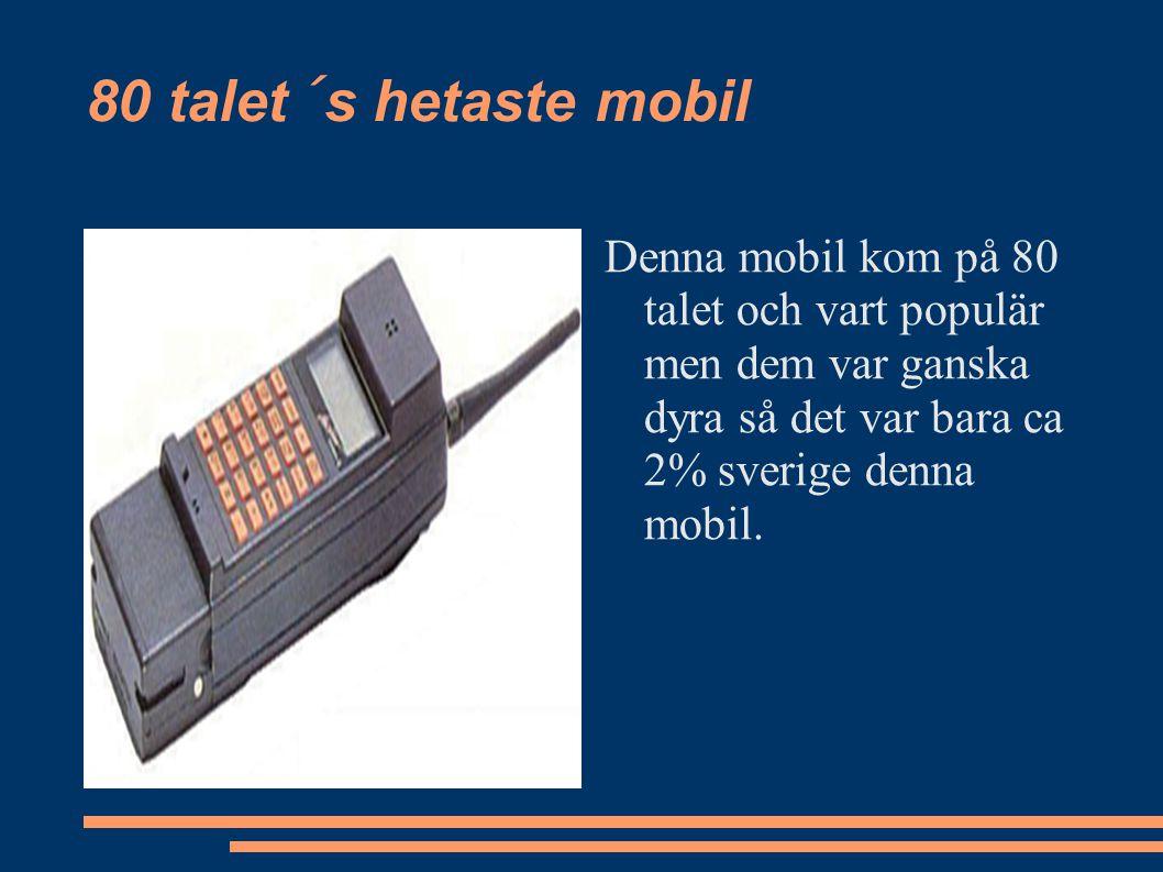 Tidigt 2000 tal så kom denna skönhet På tidigt 2000 tal så kom sony ericsson ut med denna mobil och den vart populär.